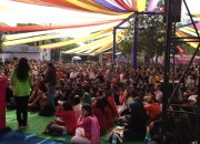 5000-strong crowd at Jaipur Literature Festival for EWWC panel discussion on Free Expression