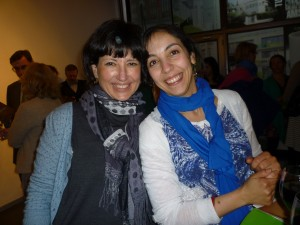 Kapka Kassabova and Rachida Lamrabet in Brussels